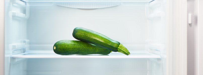 Come conservare le zucchine in frigo