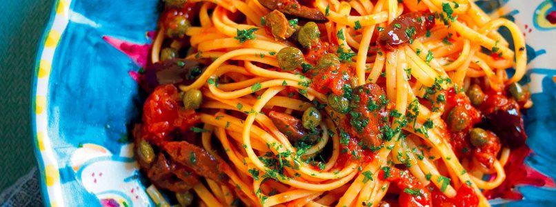 Ricetta Linguine alla puttanesca - La Cucina Italiana